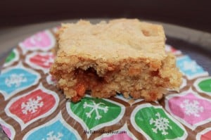 Butterscotch Blondies | thebittersideofsweet.com