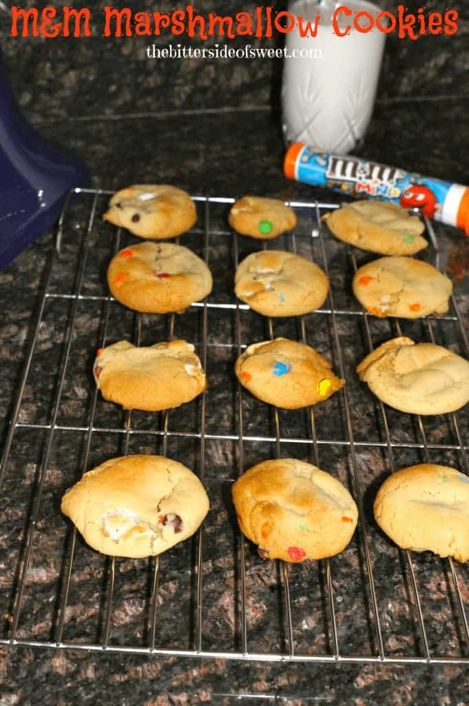 M&M Marshmallow Cookies