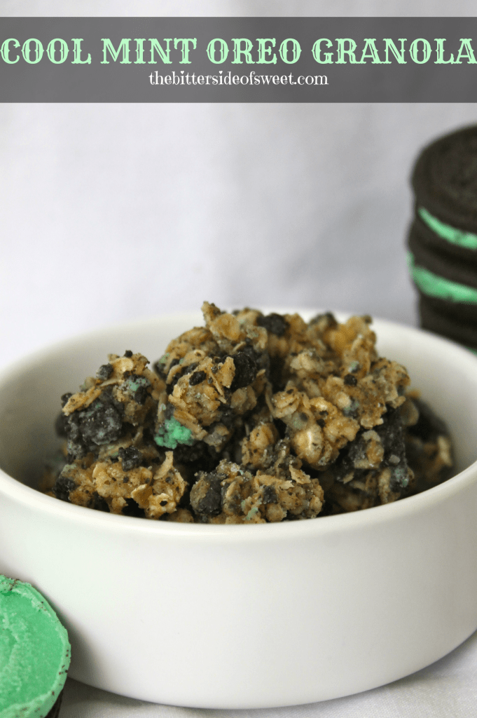 Cool Mint Oreo Granola 2