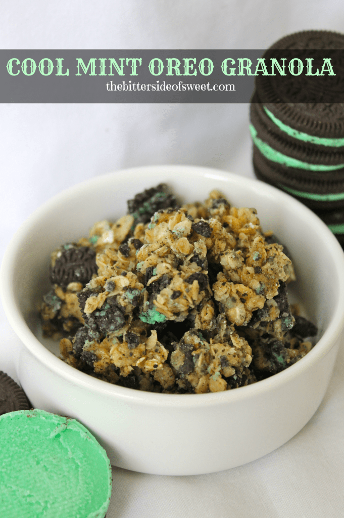 Cool Mint Oreo Granola