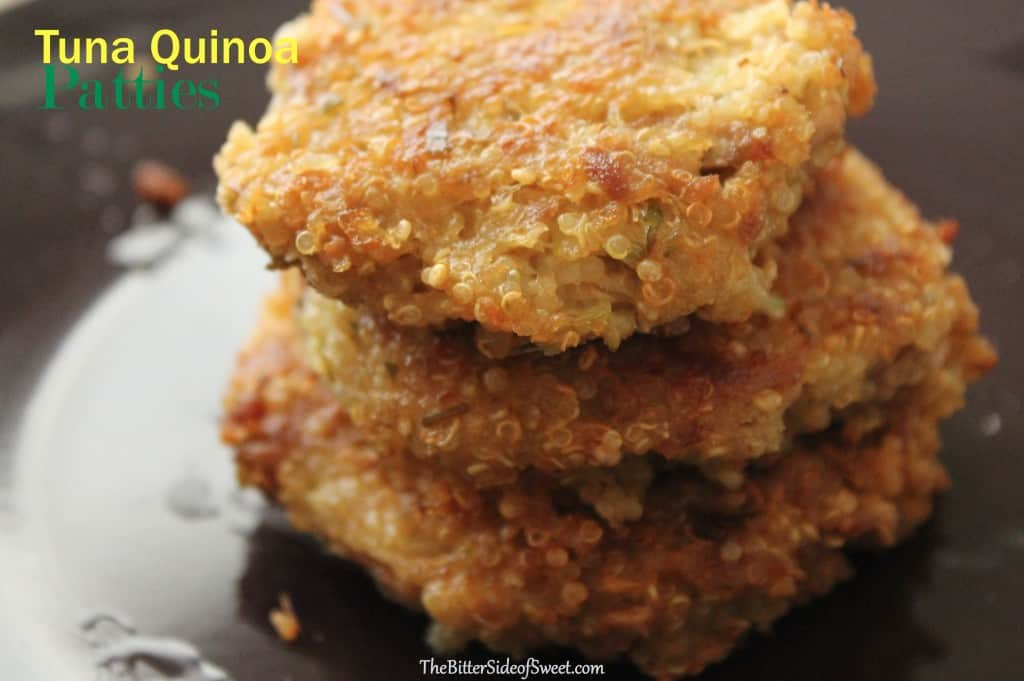Tuna Quinoa Patties