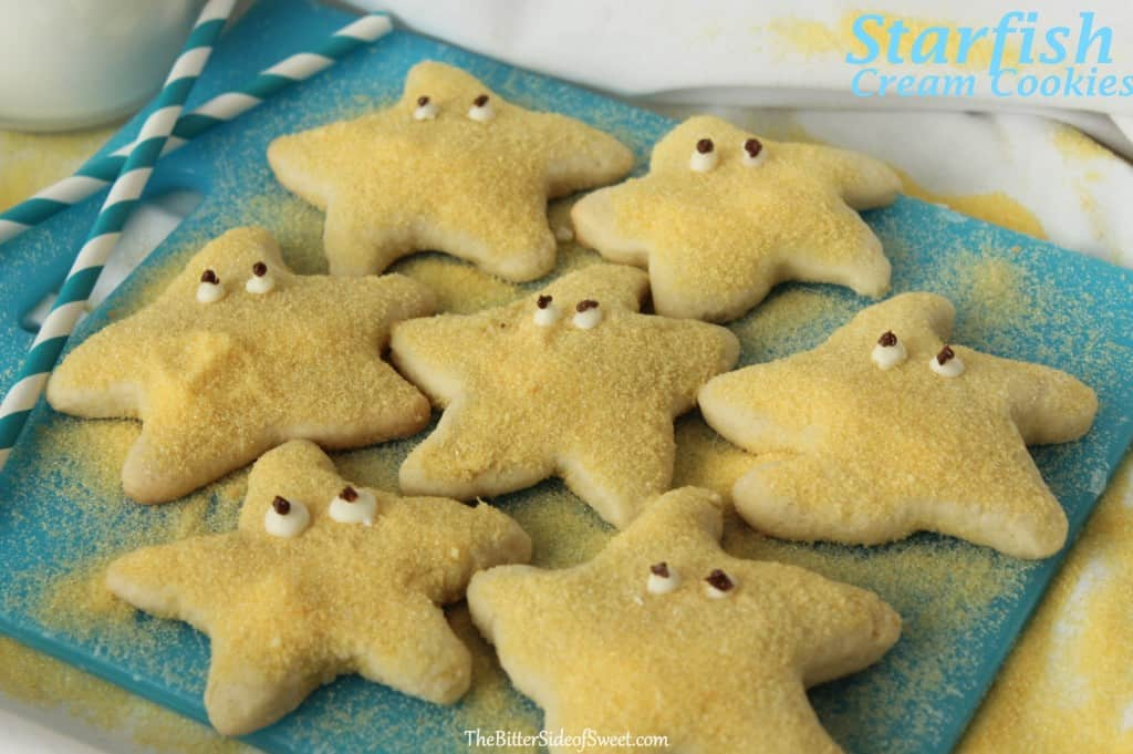 Starfish Cream Cookies