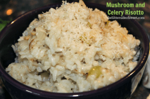 Mushroom and Celery Risotto 2