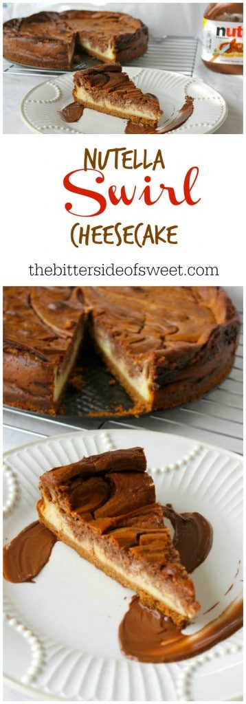 Nutella Swirl Cheesecake 1