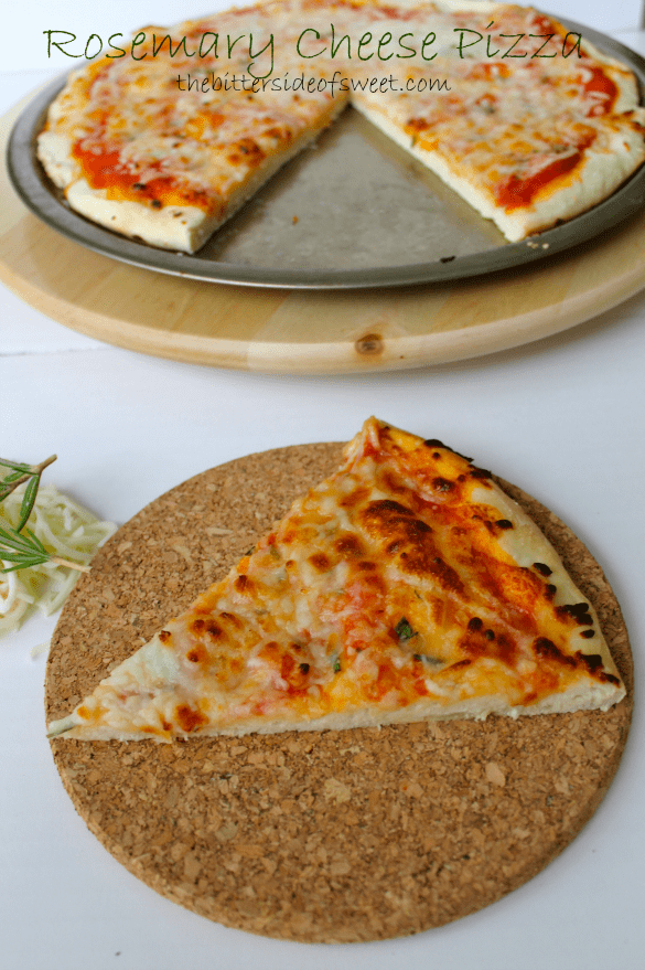 Rosemary Cheese Pizza 1