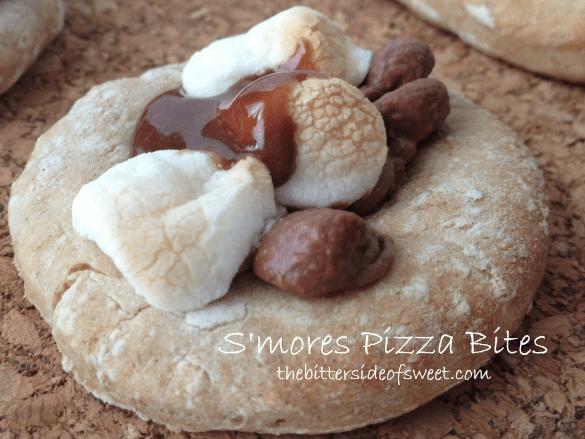 S'mores Pizza Bites | thebittersideofsweet.com