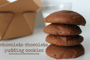 chocolate chocolate pudding cookies 2