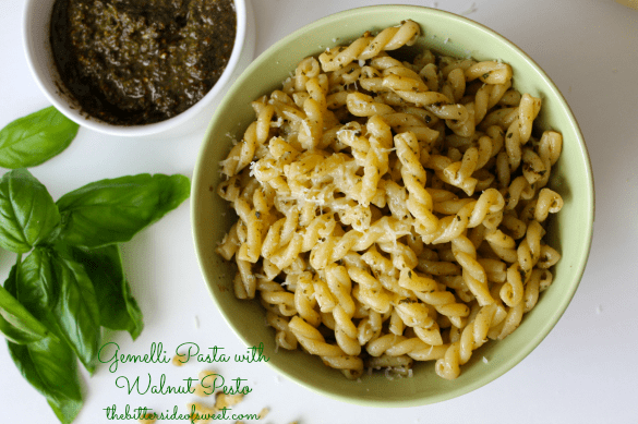 Gemelli Pasta with Walnut Pesto 2