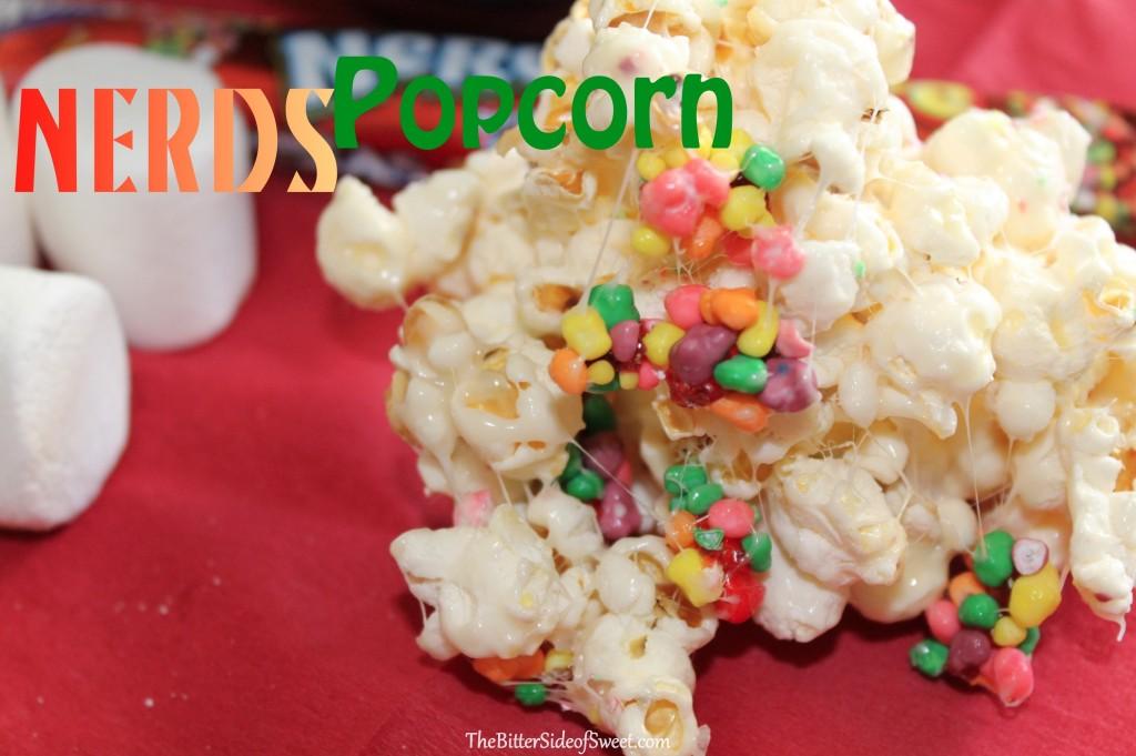 Nerds Popcorn at thebittersideofsweet