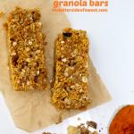 pumpkin walnut  granola bars thebittersideofsweet.com
