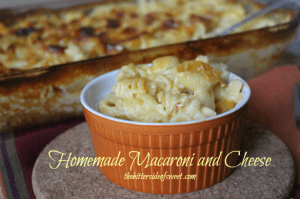 Homemade Macaroni and Cheese thebittersideofsweet.com 3
