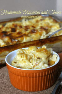 Homemade Macaroni and Cheese thebittersideofsweet.com