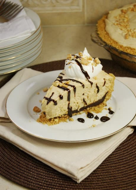 Black Bottom Peanut Butter IceBox Pie