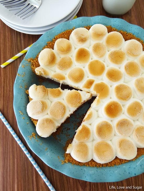 Smores_Chocolate_Pie6