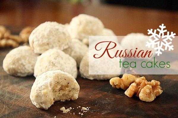 Emeril Lagasse Russian Tea Cakes