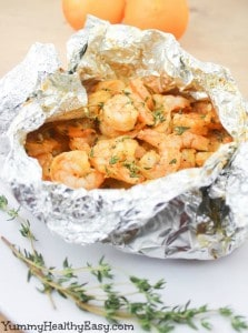 Orange Thyme Grilled Shrimp 5