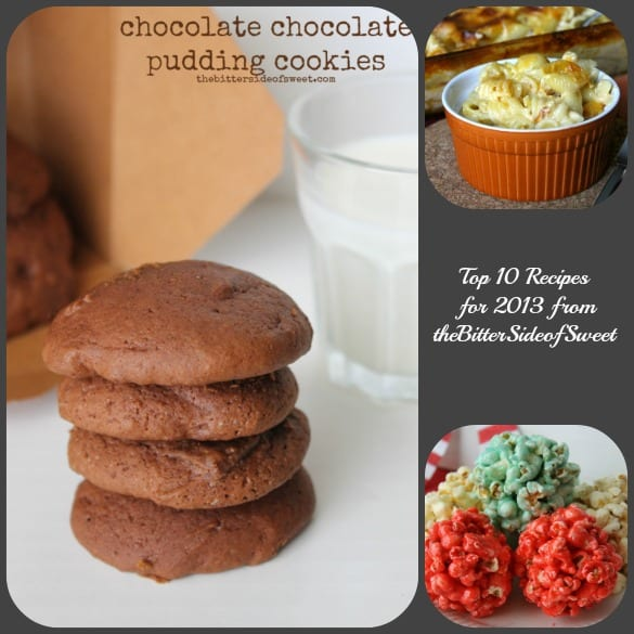 Top 10 Recipes for 2013 from theBitterSideofSweet