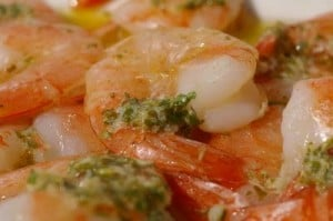 lemon and garlic shrimp 029