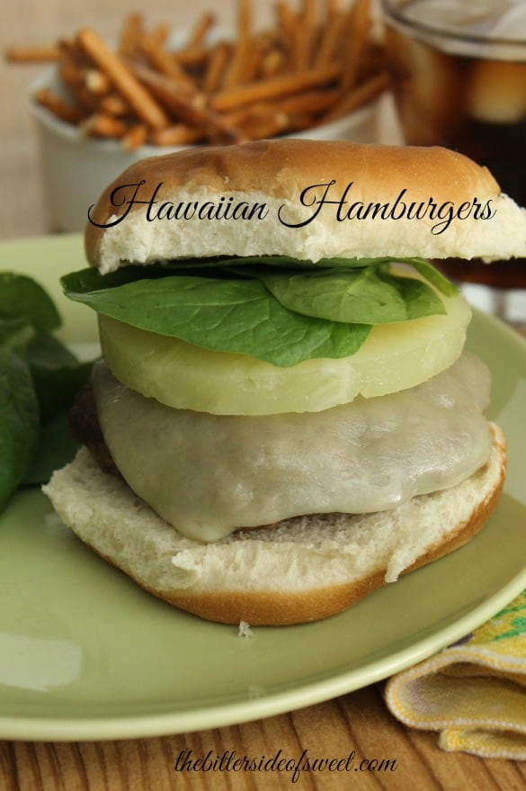 Hawaiian Hamburgers | thebittersideofsweet.com