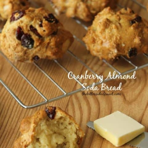 Cranberry Almond Soda Bread Recipe (Luck of the Irish Week)
