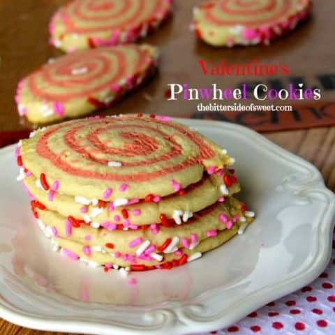 Valentine's Pinwheel Cookies (A Silpat Review)
