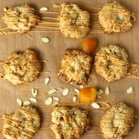 Apricot Almond Butterscotch Cookies