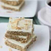 Coconut Chai Latte Bars (Guest Post)