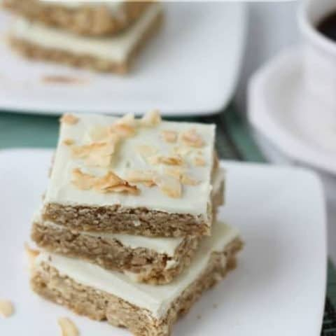 Coconut Chai Latte Bars (Guest Post)
