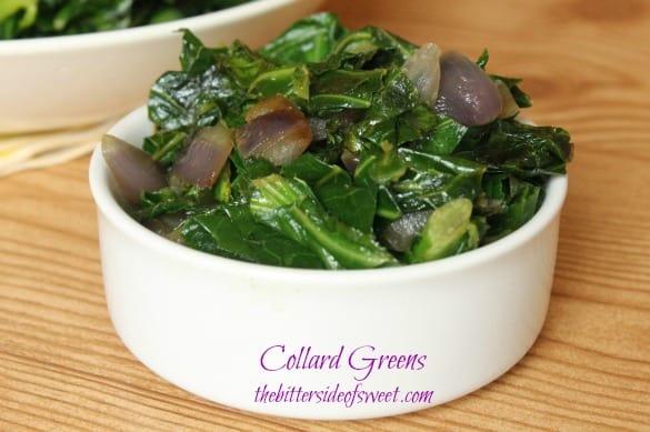 Collard Greens | thebittersideofsweet.com