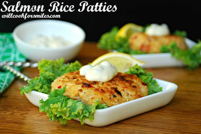 Salmon and Rice Patties 2ed