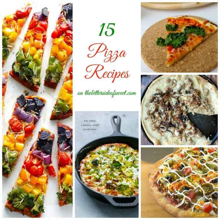 15 Pizza Recipes