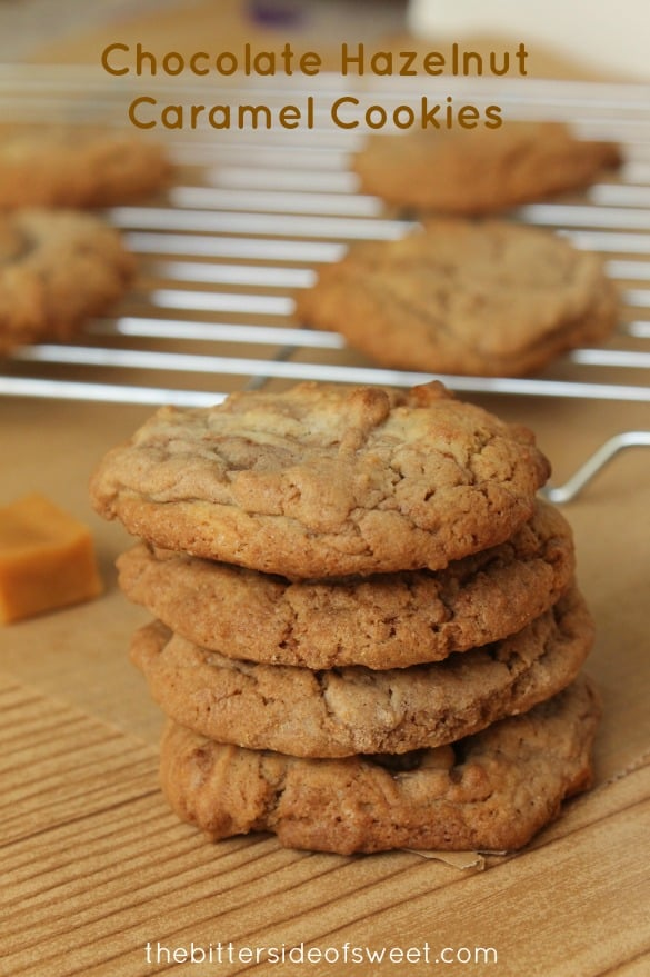Chocolate Hazelnut Caramel Cookies 1