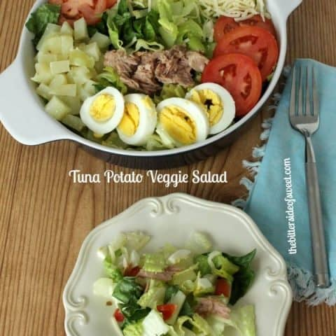 Tuna Potato Veggie Salad