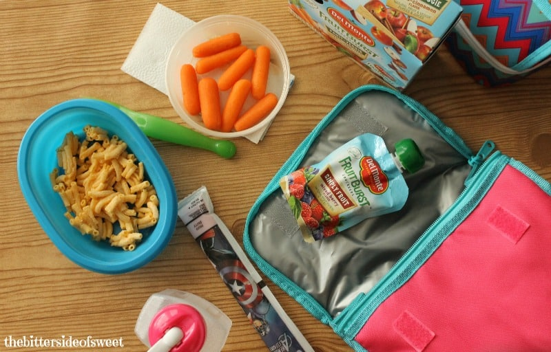 Making School Lunches Easy | thebittersideofsweet.com