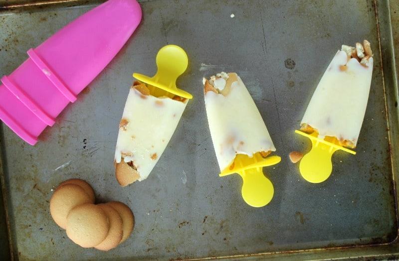 Banana Pudding Yogurt Pops