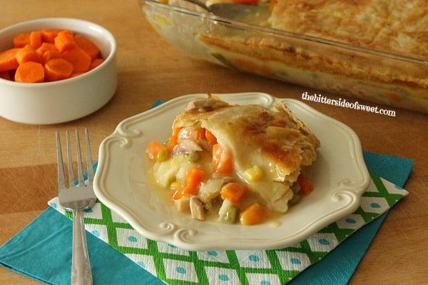Easy delicious Homemade Chicken Pot Pie | thebittersideofsweet.com