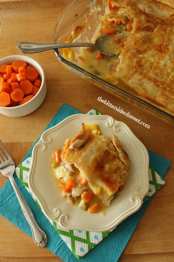 Easy delicious Homemade Chicken Pot Pie   thebittersideofsweet.com