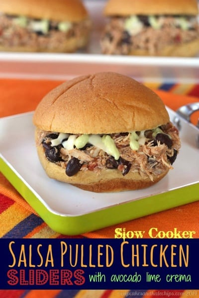 Slow-Cooker-Salsa-pullled-Chicken-Sliders-4-title