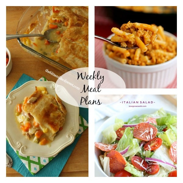 Weekly Meal Plans 13