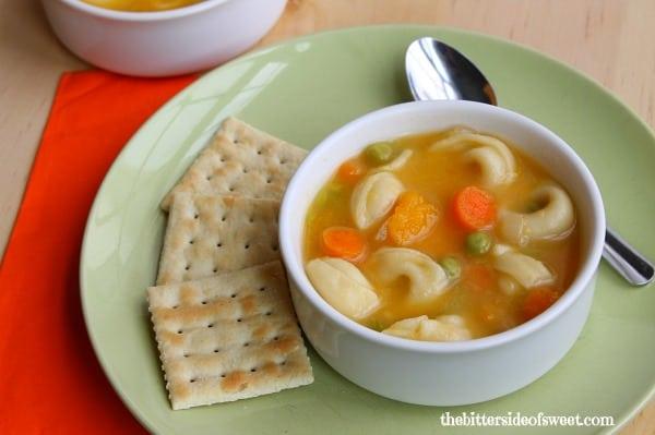 Roasted Butternut Squash Tortellini Soup 2