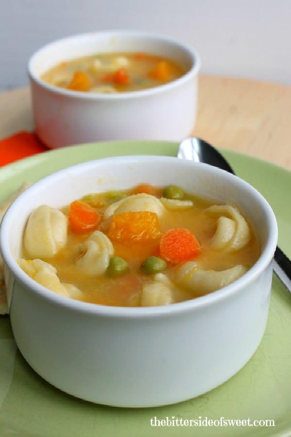 Roasted Butternut Squash Tortellini Soup 3