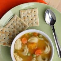Roasted Butternut Squash Tortellini Soup