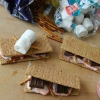 Peppermint Pretzel S'mores (guest post)