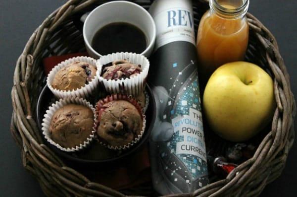 Chocolate Berry Muffins 2