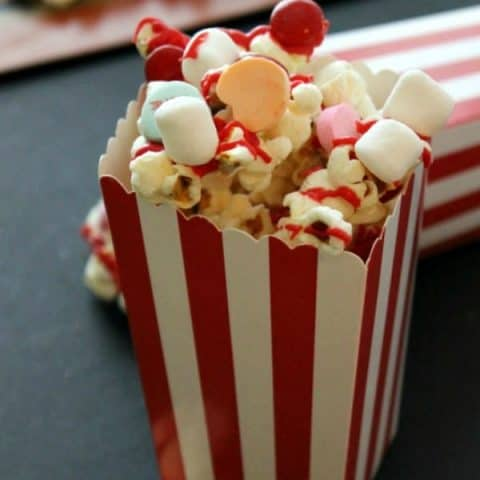 Valentine's Day Party Popcorn