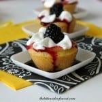 Blackberry Lemon  Cookie Cups 4