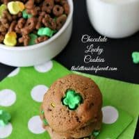 Chocolate Lucky Cookies (+ a giveaway)