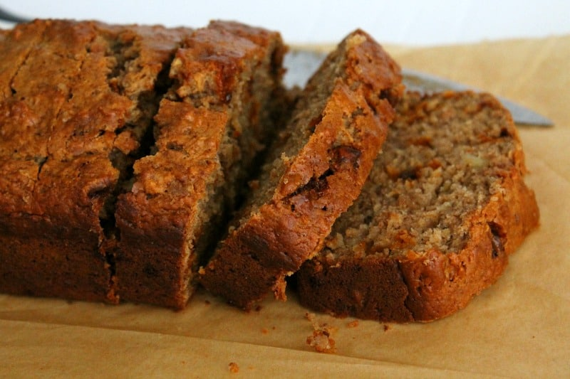 Apple Cinnamon Banana Bread - The Bitter Side of Sweet