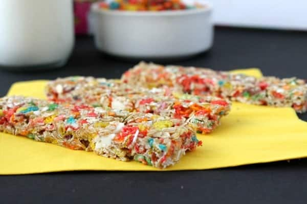 Fruity Pebbles Granola Bars - The Bitter Side of Sweet