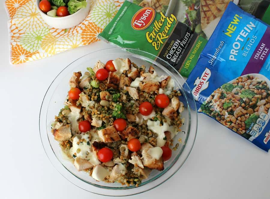 Grilled Chicken Casserole - The Bitter Side of Sweet #FastFreshFilling #Pmedia #ad